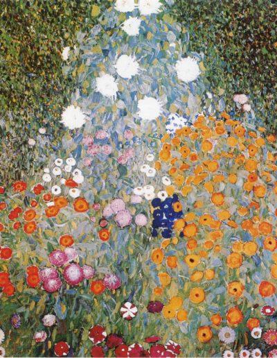 Репродукция картина - цветочный сад