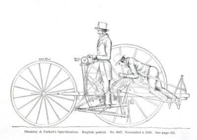 bicycle_001 Репродукция картина -