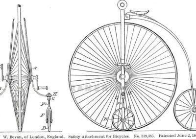 bicycle_002 Репродукция картина -