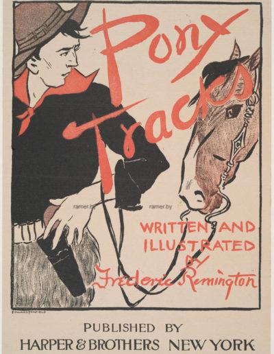 harpers's_Pony_track Репродукция картина -