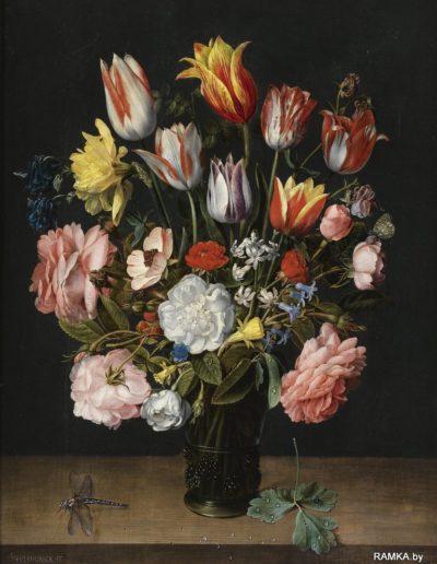 0005 - Репродукция картина - Голландский натюрморт