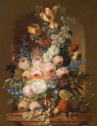 0014 - Репродукция картина - Голландский натюрморт