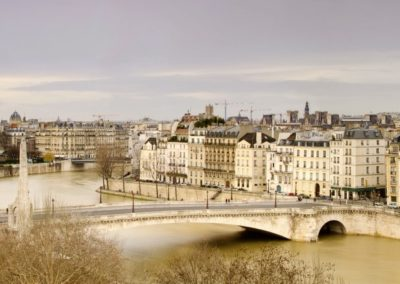 panorama of Paris,Europe