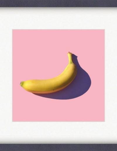Репродукция картина - Банан на розовом